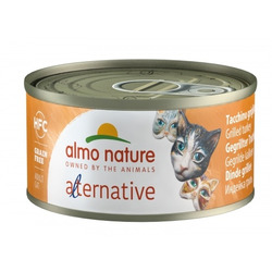 "Almo Nature Alternative Консервы для кошек ""Индейка гриль"" (HFC ALMO NATURE ALTERNATIVE CATS TURKEY GRILLED)"