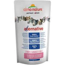 Almo Nature Alternative Корм со свежим лососем (55 % мяса) для кошек (Alternative Salmon and Rice)