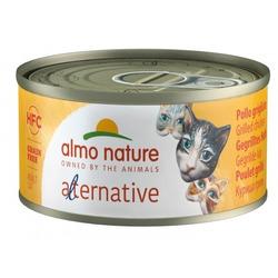 "Almo Nature Alternative Консервы для кошек ""Курица гриль"" (HFC ALMO NATURE ALTERNATIVE CATS CHICKEN GRILLED)"