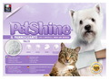 Petshine Очищающая варежка-салфетка для собак и кошек с детской присыпкой