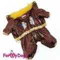 """ForMyDogs Комбинезон для мелких пород собак """"Ангелочки"""" для мальчика"""