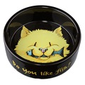 Trixie Миска керамическая для кошки Do you like Fish