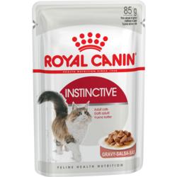 Royal Canin Instinctive Влажный корм для кошек кусочки в соусе