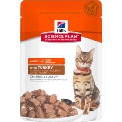 HILL'S SP Feline Adult Turkey Pouch. Пауч для кошек с индейкой
