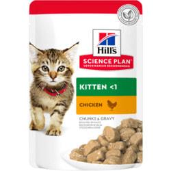 HILL'S Science Plan Kitten влажный корм для котят Курица