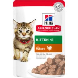 HILL'S SP Feline Kitten with Turkey Pouch. Пауч для котят Индейка