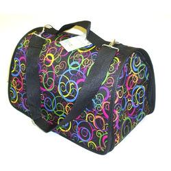 DOGMAN Сумка-переноска теплая с мехом для собак и кошек Лира №3 цвет-микс