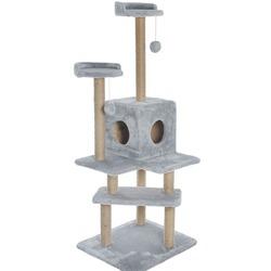 Smartpet Игровой комплекс Лестница для кошек серого цвета