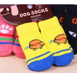 4 My Pets Носки для собак Желто-синие