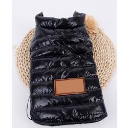 4 My Pets Куртка на флисе для собак черная
