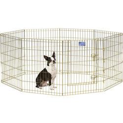 MidWest Вольер позолоченный с дверью 61х76см для щенков и мелких собак