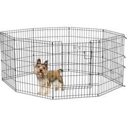 MidWest Вольер черный с дверью 61х76см для щенков и мелких собак