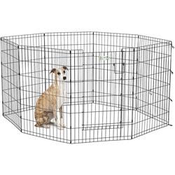 MidWest Вольер черный с дверью 61х91см для щенков и средних собак