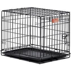 """MidWest Клетка iCrate Single door 24"""" однодверная для мелких собак и кошек, черная"""
