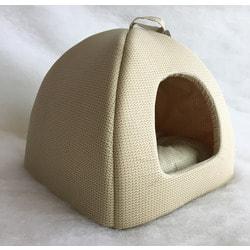 Бобровый дворик Домик для собак и кошек Вязка светлая