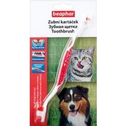 BEAPHAR Toothbrush - Зубная щетка двойная для собак