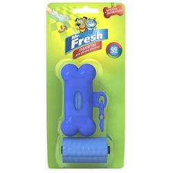 Mr.Fresh Пакеты для уборки фекалий с брелоком-держателем