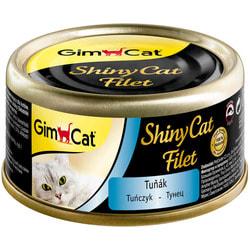 Консервы Gimpet ShinyCat Filet для кошек из тунца в бульоне