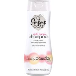 8 in 1 Perfect Coat Puppy Shampoo - Baby Powder. Шампунь без слез для щенков