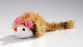 Beeztees Игрушка для кошек Мышь плюшевая с длинным ворсом