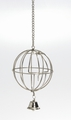 I.P.T.S./Beeztees Кормушка-мяч металлическая подвесная с дверцей и колокольчиком