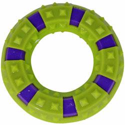 DOGMAN Игрушка для собак Кольцо с шипами для массажа десен