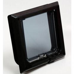 PetHouse Барсик дверца для кошки венге (черный)