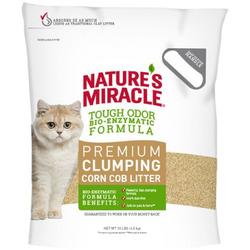 Nature's miracle Наполнитель комкующийся кукурузный для кошачьих туалетов