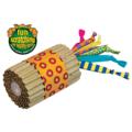 """Petstages Игрушка для кошек """"Туб"""" картон с текстильными хвостами"""