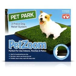Pet Zoom Туалет для собак Pet Park с искусственной травкой