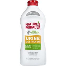 Nature's miracle Уничтожитель пятен, запахов и осадка от мочи собак NM Urine Destroyer