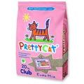 PrettyCat Наполнитель бентонитовый комкующийся Euro Mix для кошачьего туалета