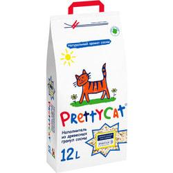 PrettyCat Wood Granules. Наполнитель древесный для кошачьих туалетов