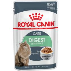 Royal Canin Digest Sensitive пауч для кошек с чувствительным пищеварением кусочки в соусе Мясо