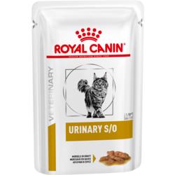 Royal Canin Urinary Feline S/O Пауч для кошек при МКБ (кусочки в соусе)