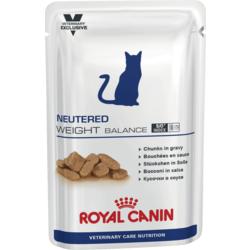 Royal Canin Пауч для кастрированных котов и кошек, склонных к полноте - Neutered Weight Balance