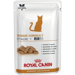 Royal Canin Пауч для кастрированных котов и кошек от 7 до 10 лет - Senior Consult Stage 1