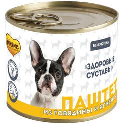 Мнямс Паштет из говядины и ягненка для собак всех пород «Здоровые суставы»