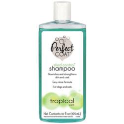 8 in 1 Perfect Coad Shed Control & Hairball Shampoo шампунь для кошек и собак против линьки и колтунов
