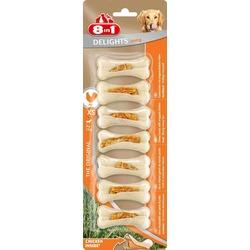 8 in 1 Delights Bones Strong ХS косточки с курицей для собак мелких пород