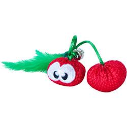 Petstages Игрушка для кошек Dental Вишни с кошачьей мятой
