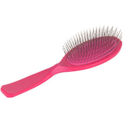 Show Tech Pin brush Large щетка массажная с пластиковой ручкой (розовая)