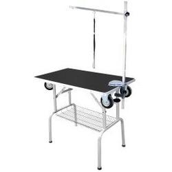 Show Tech Trolley Table Грумерский стол с колесами черный