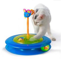 Petstages Игрушка для кошек Трек с мячиком для лакомств