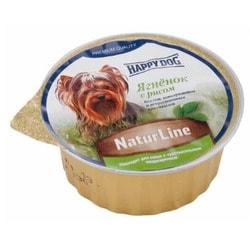 Happy Dog Паштет для собак с ягненком и рисом