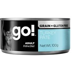 Go! Natural Holistic Консервы беззерновые с индейкой для кошек, паштет, Grain Free Turkey Pate