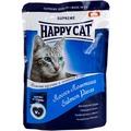 Happy Cat Пауч для кошек кусочки в соусе Лосось Ломтики