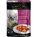 Edel Cat Пауч для кошек кусочки в желе с Лососем и Камбалой