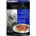 Edel Cat Пауч для кошек кусочки в соусе с Лососем и Форелью