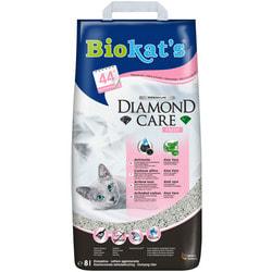 Наполнитель Biokats Diamond Care Fresh комкующийся с активированным углем и ароматизатором